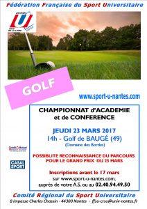affiche golf 16-17